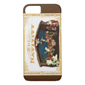 Nativity  Vintage Christmas iPhone 8/7 Case