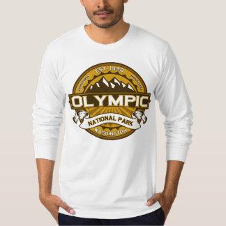 Natl Park Goldenrod Logo Tee Shirt