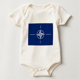 NATO Flag Baby Bodysuit
