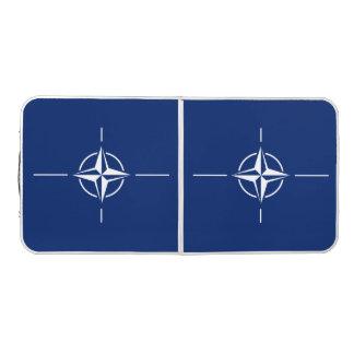 NATO Flag Beer Pong Table