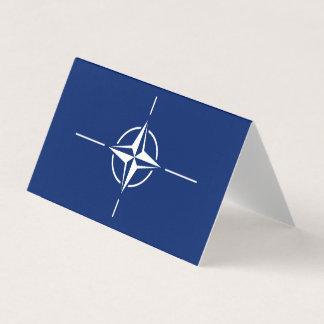 NATO Flag Business Card