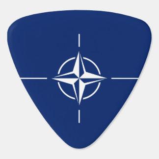 NATO Flag Guitar Pick