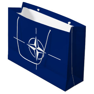 NATO Flag Large Gift Bag