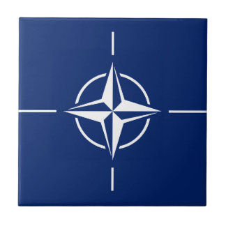 NATO Flag Small Square Tile