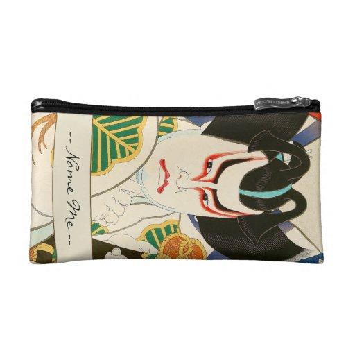Natori Shunsen Bando Hikosaburo Thirty-six Kabuki Cosmetic Bags