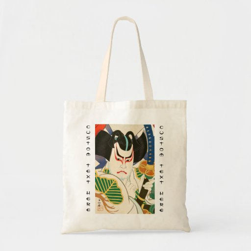 Natori Shunsen Bando Hikosaburo Thirty-six Kabuki Tote Bags