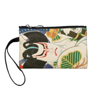 Natori Shunsen Bando Hikosaburo Thirty-six Kabuki Change Purse