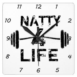 Natty 4 Life Wall Clock