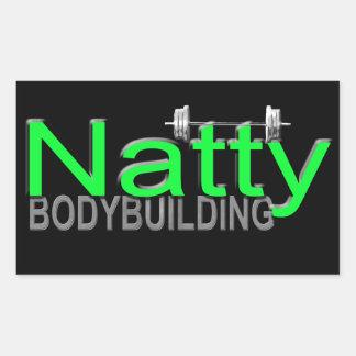 Natty Body Building Sticker