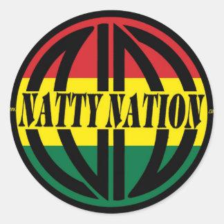 NATTY Logo Sticker