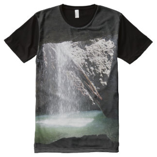 Natural Arch - Numimbah Valley, Gold Coast hinterl All-Over Print T-Shirt