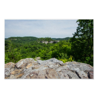 Natural Arch Scenic Area, Kentucky Poster
