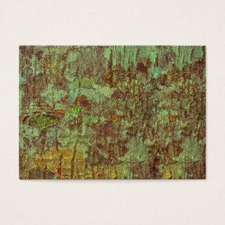 Natural bark texture business card