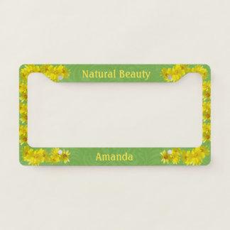 Natural Beauty Yellow Daisies Custom Name