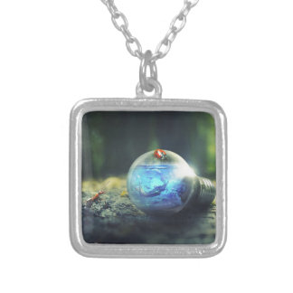 Natural Bliss Silver Plated Necklace