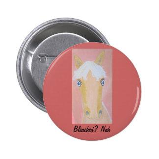 Natural Blond Pinback Buttons