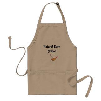 Natural Born Griller Adult Apron