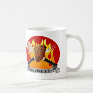 Natural Born Griller Mug Father's Day BBQ gift
