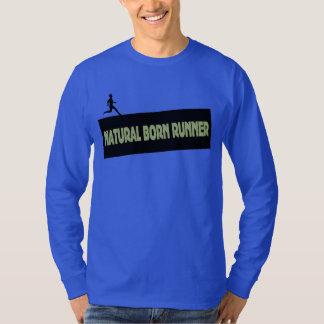 Natural Born Runner - Funny Running Shirt Men