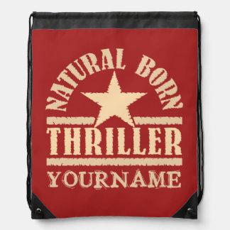 Natural Born Thriller custom bag Backpacks