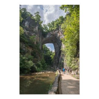 Natural Bridge Photo Print