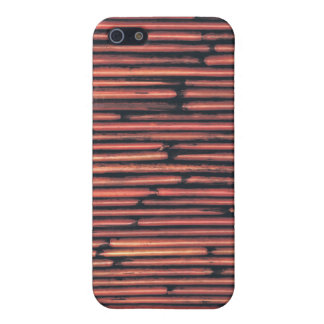 Natural Brown Bamboo iPhone 5/5S Covers