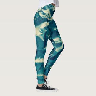 Natural Camo Crinkled Look 4Tracee Leggings