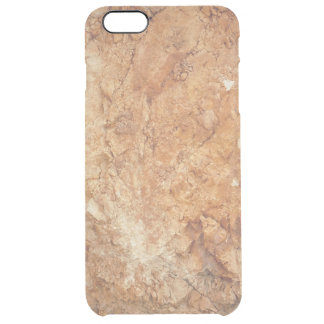 natural  collection. golden rock. Greece Clear iPhone 6 Plus Case