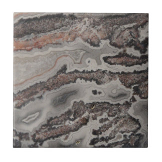 Natural Crazy Lace Agate Photo Tile