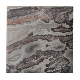 Natural Crazy Lace Agate Photo Tile