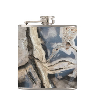 Natural Crystal Pattern Flask