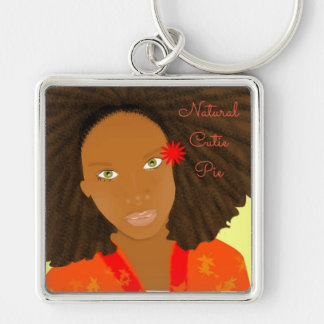 Natural_Cutie_Pie Key Ring