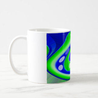 Natural dimension basic white mug