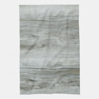 Natural Driftwood Background Tea Towel