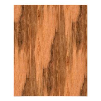 Natural Eucalyptus Wood Grain Look 11.5 Cm X 14 Cm Flyer