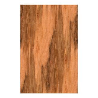 Natural Eucalyptus Wood Grain Look 14 Cm X 21.5 Cm Flyer