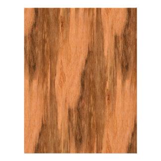 Natural Eucalyptus Wood Grain Look 21.5 Cm X 28 Cm Flyer