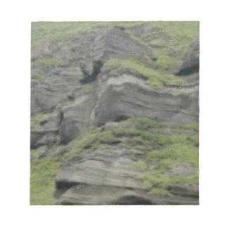 natural folds in stone notepad