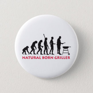 Natural fount Griller 2C 6 Cm Round Badge