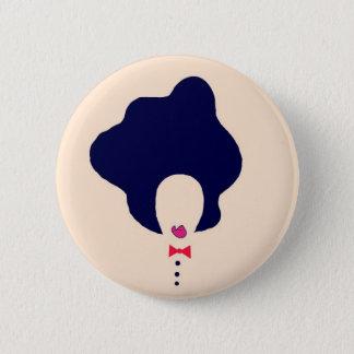 natural hair art pin