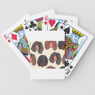 natural hair bicycle playing cards