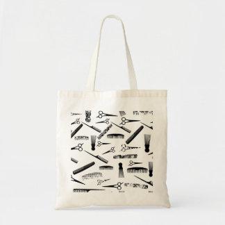 Natural Hair Fashion Budget Tote Bag
