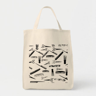 Natural Hair Fashion Grocery Tote Bag