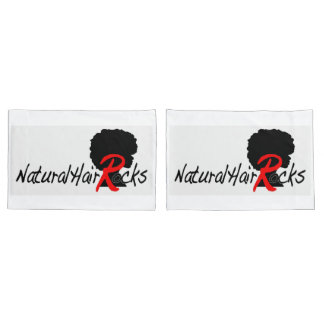Natural Hair Rocks 2 pillow cases (standard size)