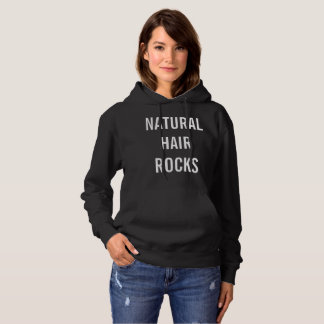 Natural Hair Rocks hoodie