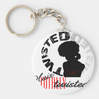 Natural Hair: Totally Twisted Key Ring