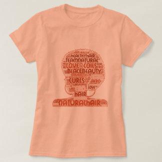 Natural Hair WordCloud T-Shirt