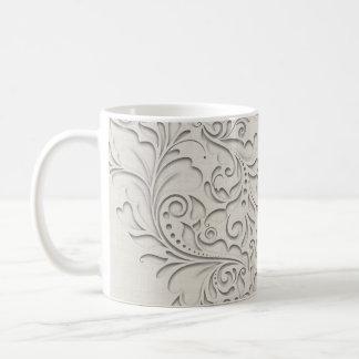 Natural HeartyChic Basic White Mug