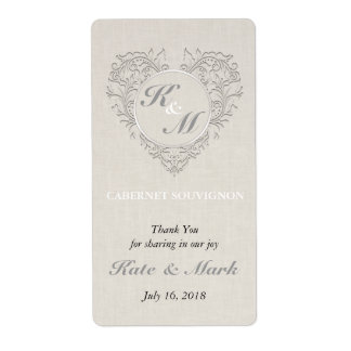 Natural HeartyChic Shipping Label