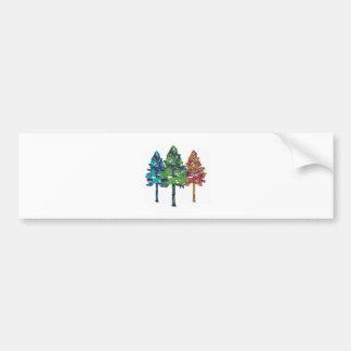 Natural Hues Bumper Sticker